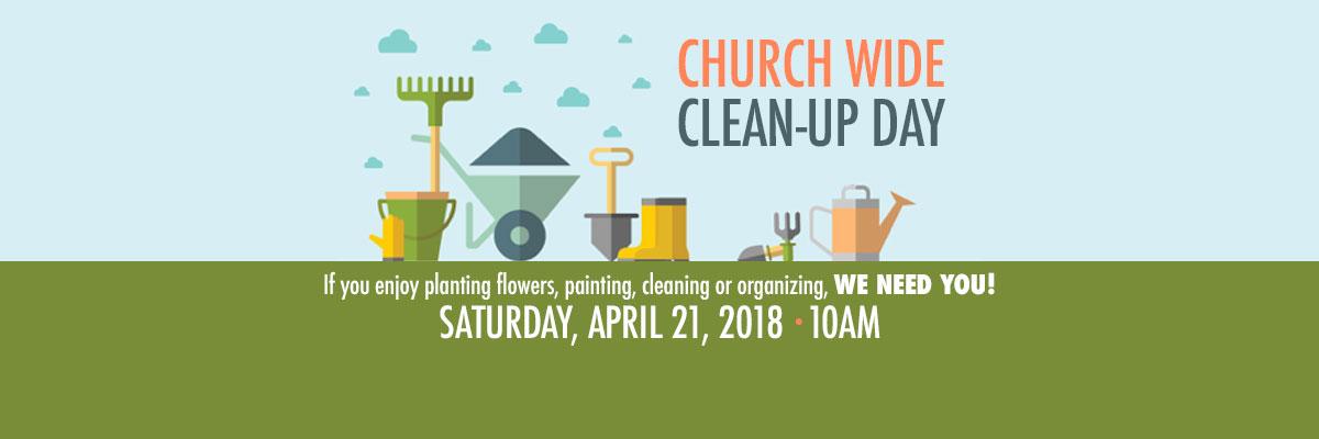 ChurchWideCleanUpDay