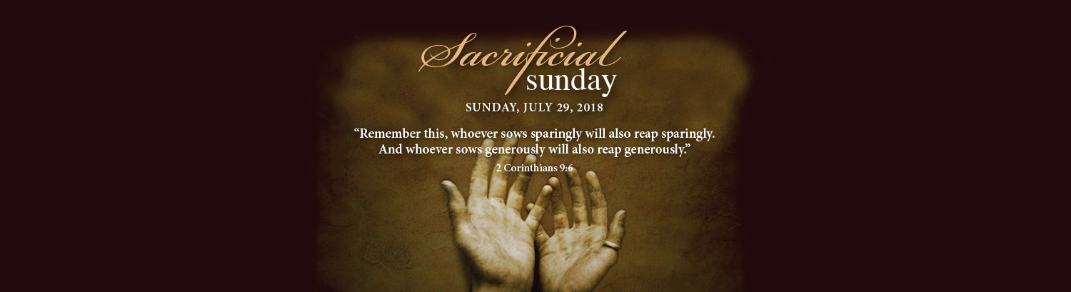 SacrificialSunday_July2018